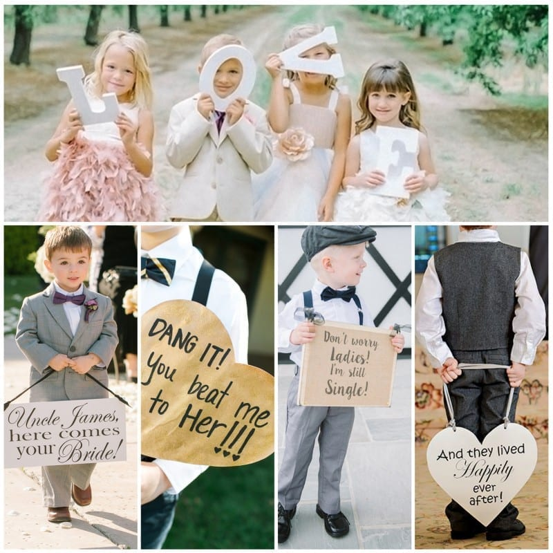 Sunday Inspiration: 19 Cute Signs for Ring Bearers