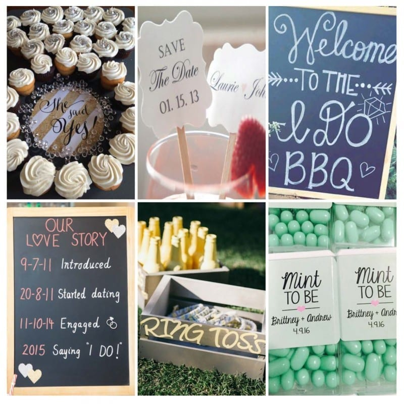 Sunday Inspiration: 9 engagement party decor ideas